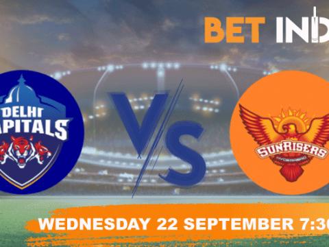 Delhi Capitals vs Sunrisers Hyderabad Betting Tips & Predictions IPL 2021