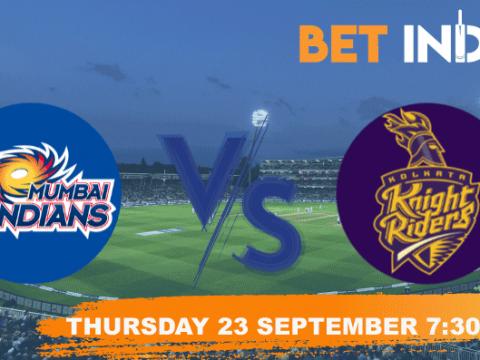 Mumbai Indians v Kolkata Knight Riders Betting Tips & Predictions IPL 2021