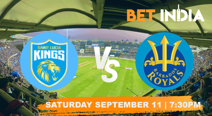 St Lucia Kings vs Barbados Royals Betting Tips & Predictions CPL 2021