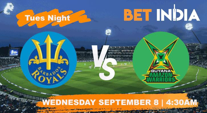 Barbados Royals vs Guyana Amazon Warriors Betting Tips & Predictions