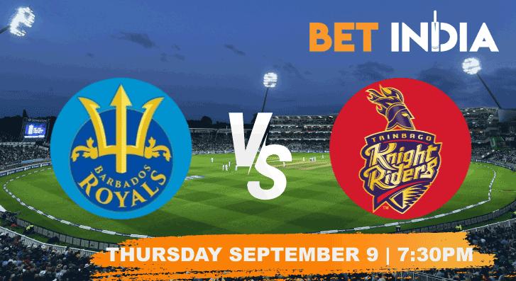 Barbados Royals v Trinbago Knight Riders Betting Tips & Predictions