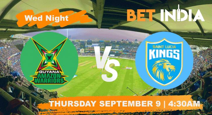 Guyana Amazon Warriors vs Saint Lucia Kings Betting Tips & Predictions
