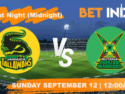 Jamaica Tallawahs v Guyana Amazon Warriors Betting Tips & Predictions