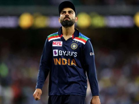 Virat Kohli playing for India: He is to step down as India's T20 captain